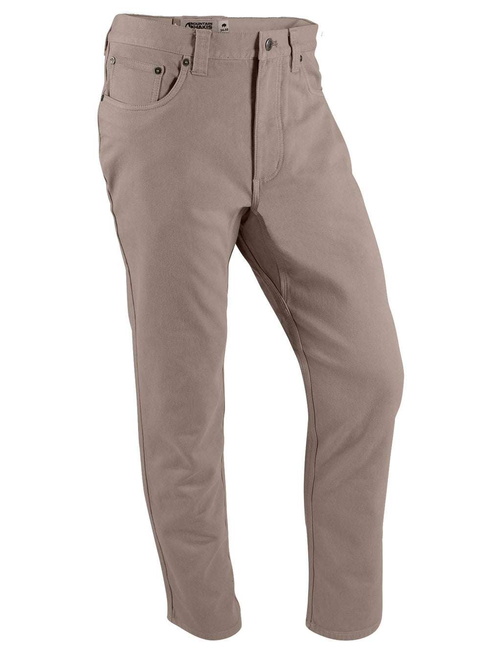 Front view of the Mountain Khakis Mitchell Pant in Firma color.