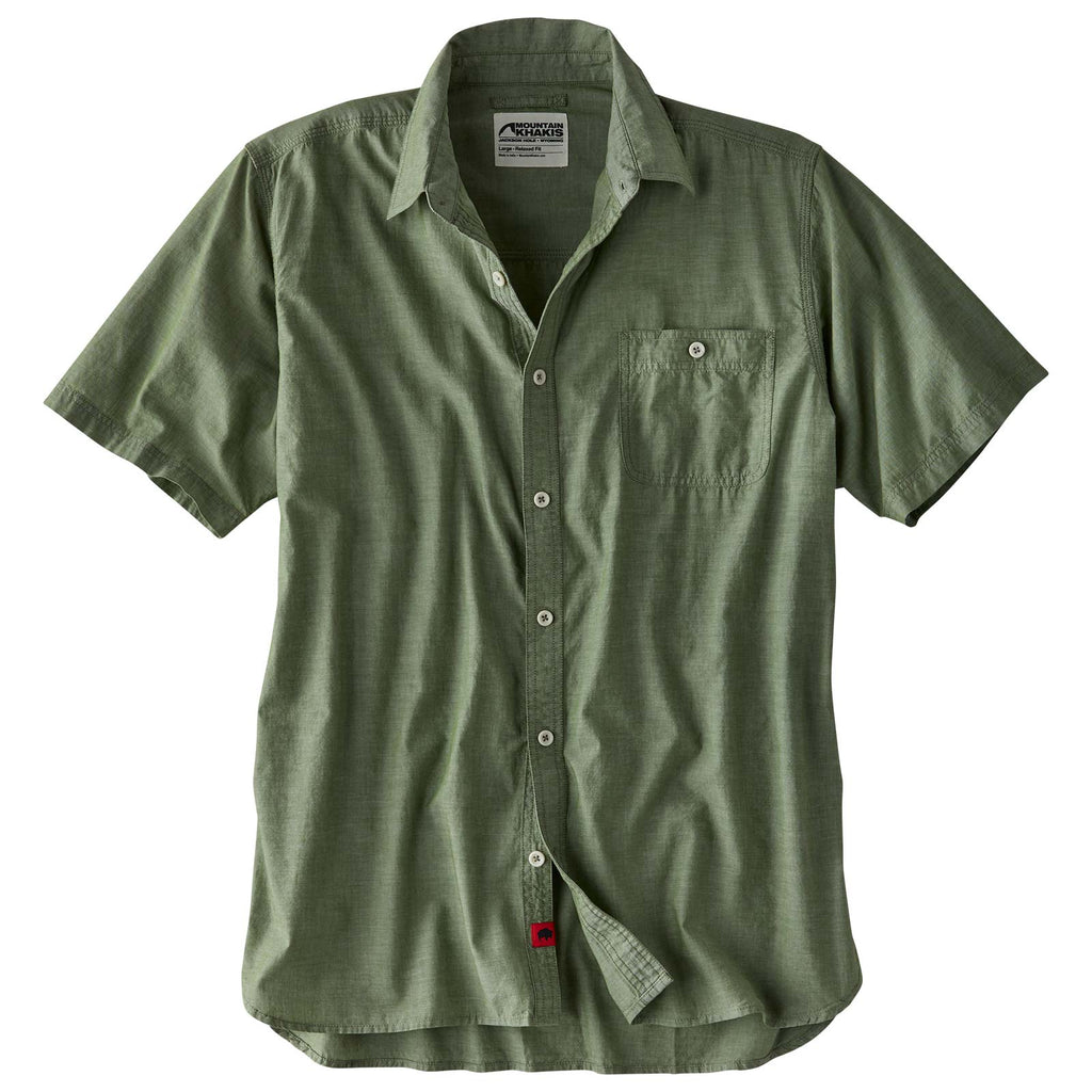 Men's Mountain Chambray Short Sleeve Shirt