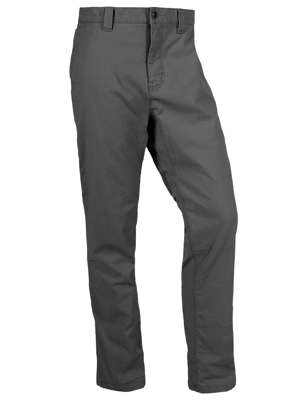 Front view of the Men's Mountain Pant in Jackson Grey color.