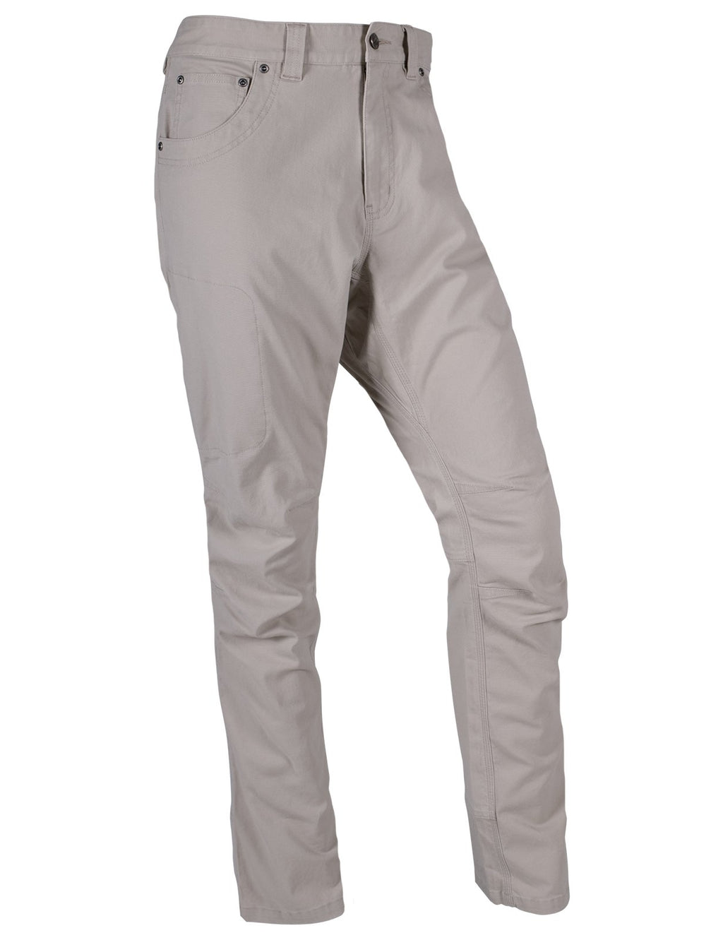 Front view of the product silhouette of the Camber Original Pant in cream Freestone color.