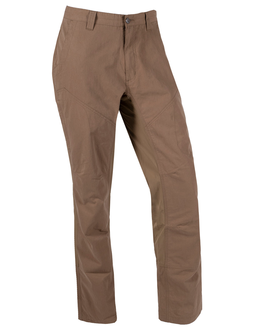Men's Original Trail Pant | Mountain Khakis | A blend of durability and mobility with features such as zipper pocket on thighs, reinforced knee and seat panels, ¾ length action gusset, reinforced pocket bags, and triple-stitched seams. Ideal as a hiking, camping, climbing, outdoor lifestyle pant.