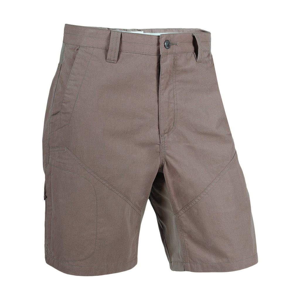 Men's Original Trail Short Classic Fit | Mountain Khakis | A blend of durability and mobility, this stretch short features a zipper pocket on right thigh for extra storage, reinforced seat panels, inseam action gusset, reinforced pocket bags, and triple-stitched seams.