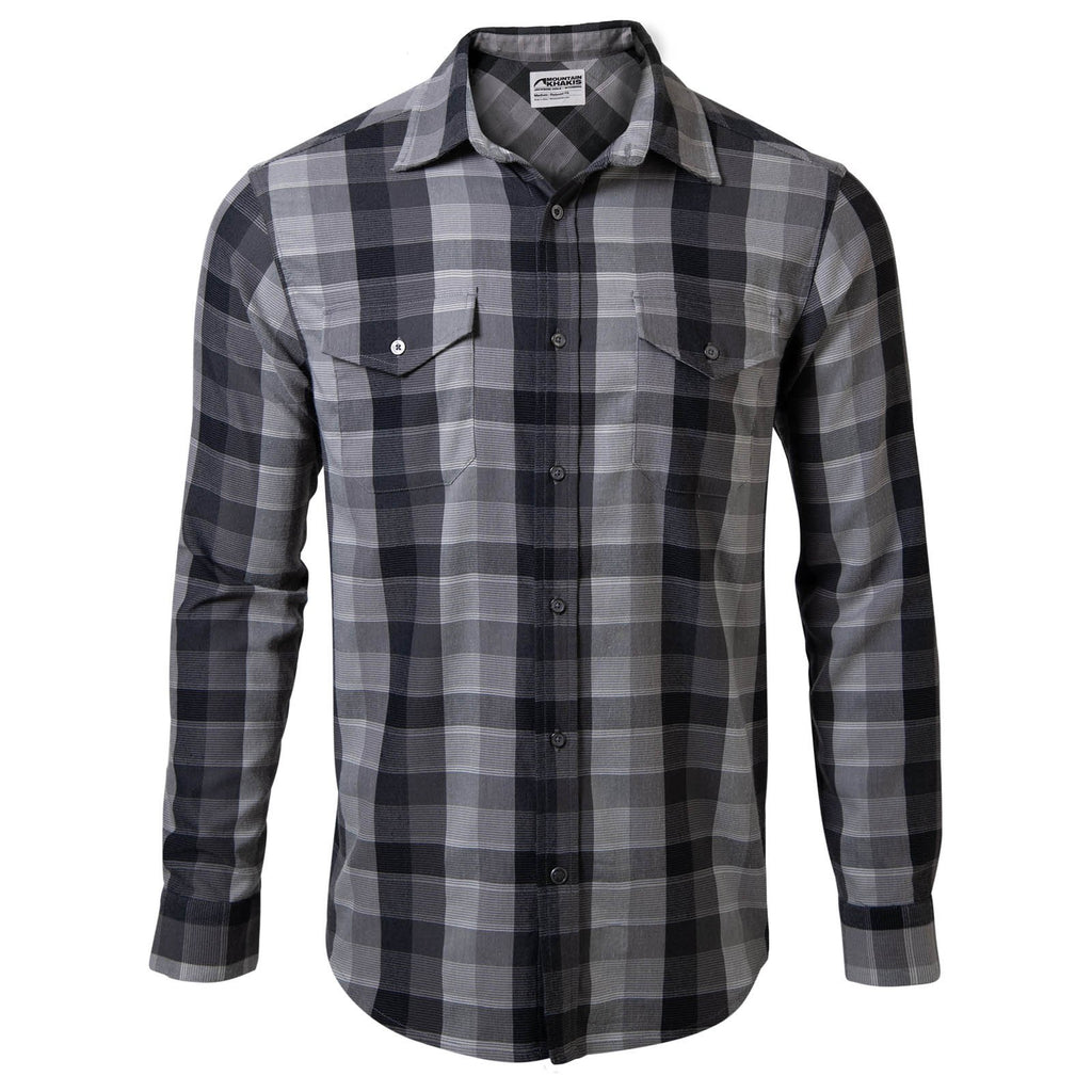 Men's Flannel Shirt | Long Sleeve | Mountain Khakis Pearl Street Flannel