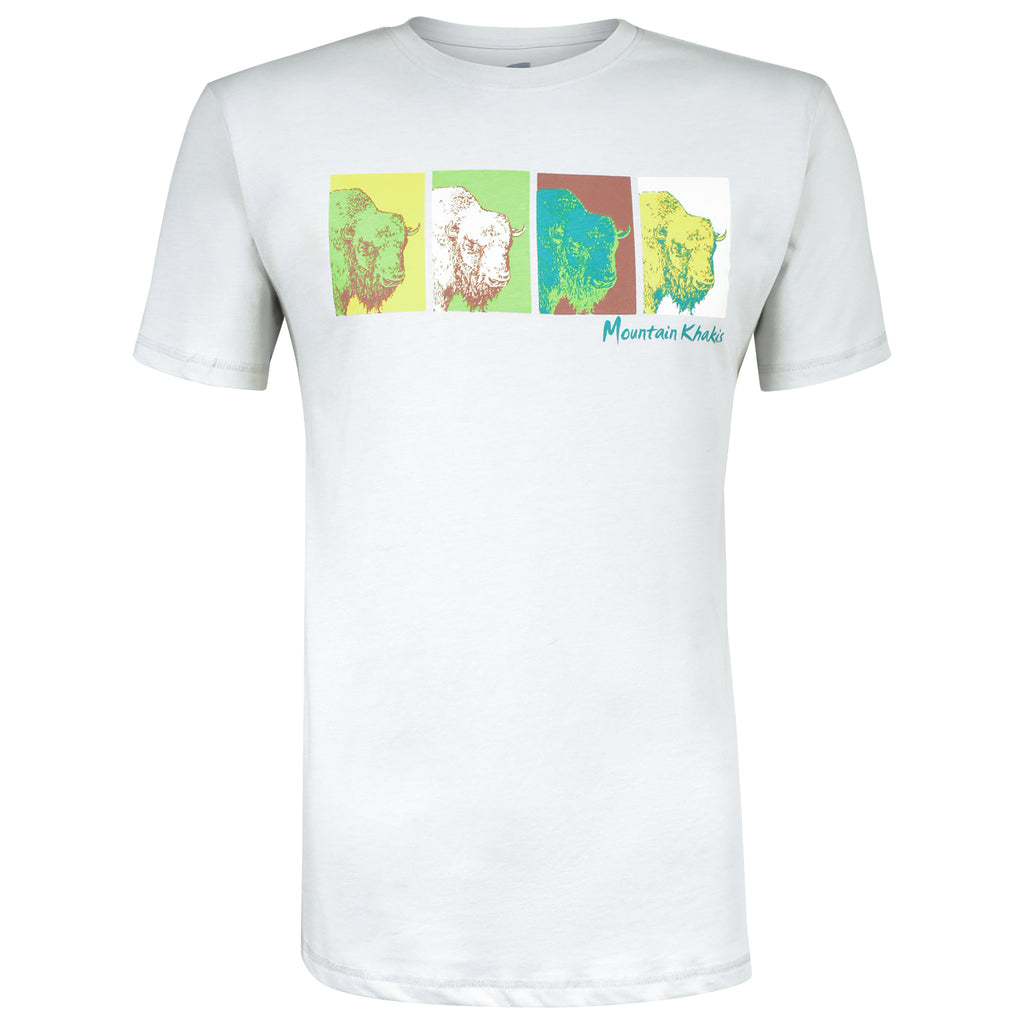 Men's Pop Bison T-Shirt