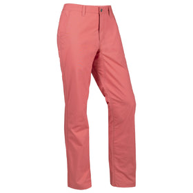 Men's Stretch Poplin Pant | Slim Fit / Rojo