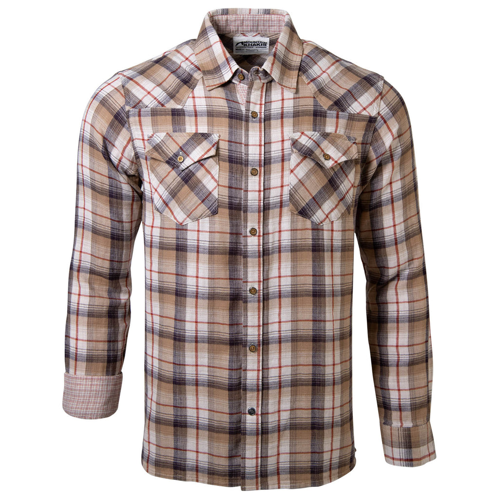 Men's Sublette Shirt | Plaid Button-Up | Mountain Khakis