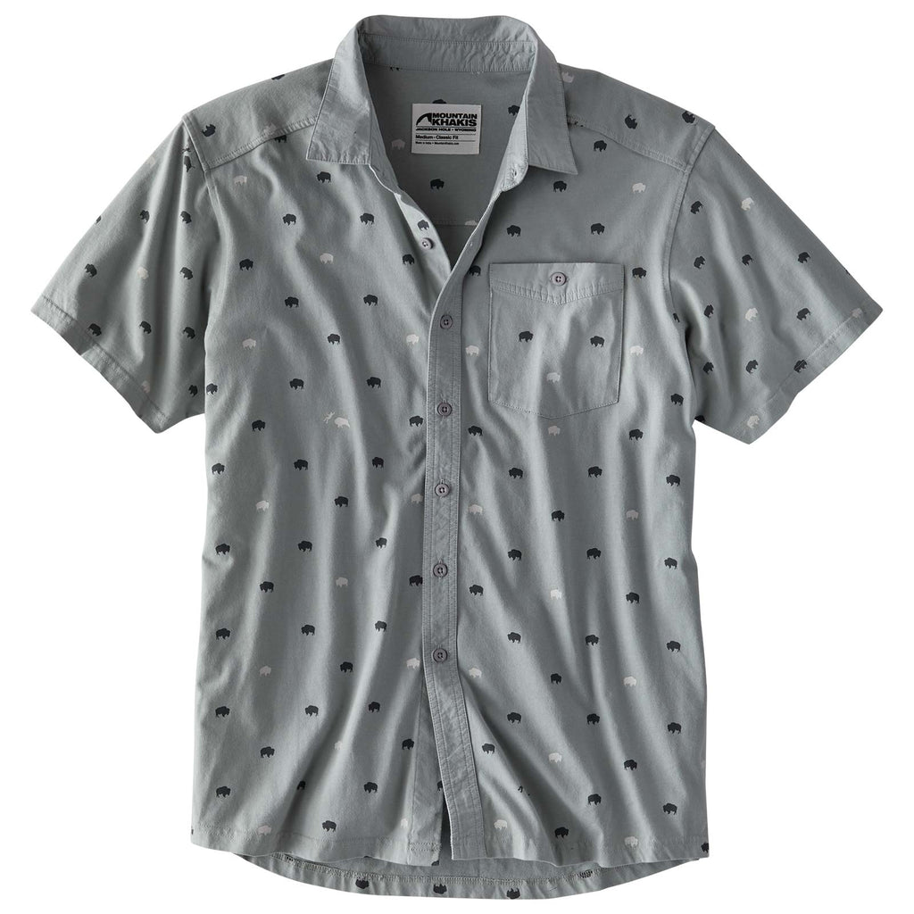 Mountain Khakis Men's Tatanka Short Sleeve Shirt