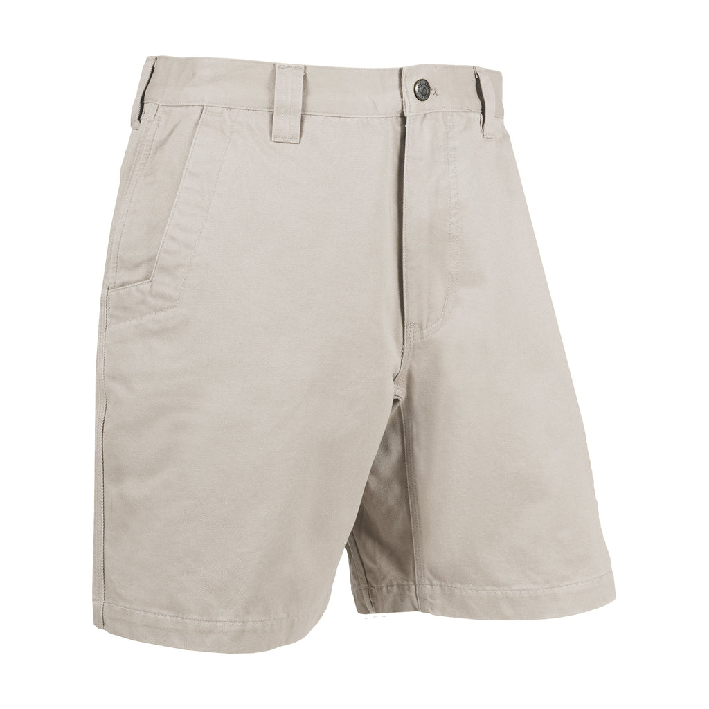 Men's Teton Twill Shorts | Mountain Khakis | Our Teton Twill Shorts say it all: classic, stylish, relaxed just like you. Includes all MK signature features: inseam action gusset, hidden right pocket and angled front pockets, triple-stitched seams, grosgrain-lined waistband and extra bar-tac reinforcements. A Mountain Khakis original. 100% 2-ply cotton. Relaxed fit.
