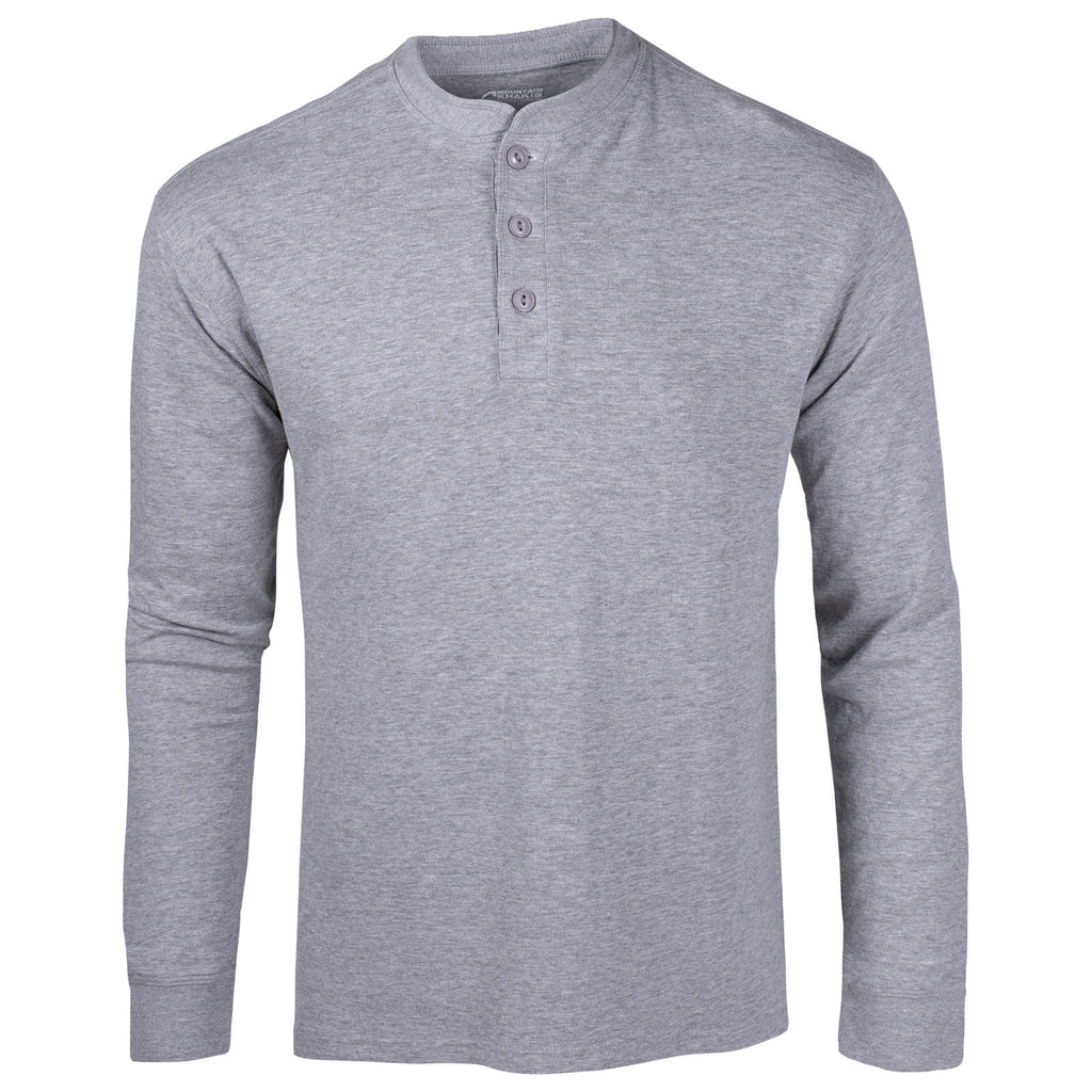 Men's Trapper Henley Long Sleeve Shirt | Mountain Khakis