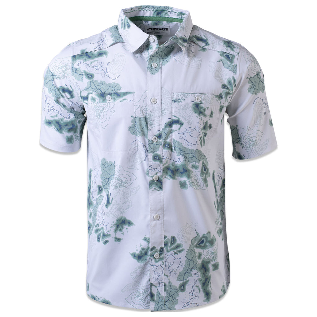 Men's Tributary Short Sleeve Shirt | Mountain Khakis