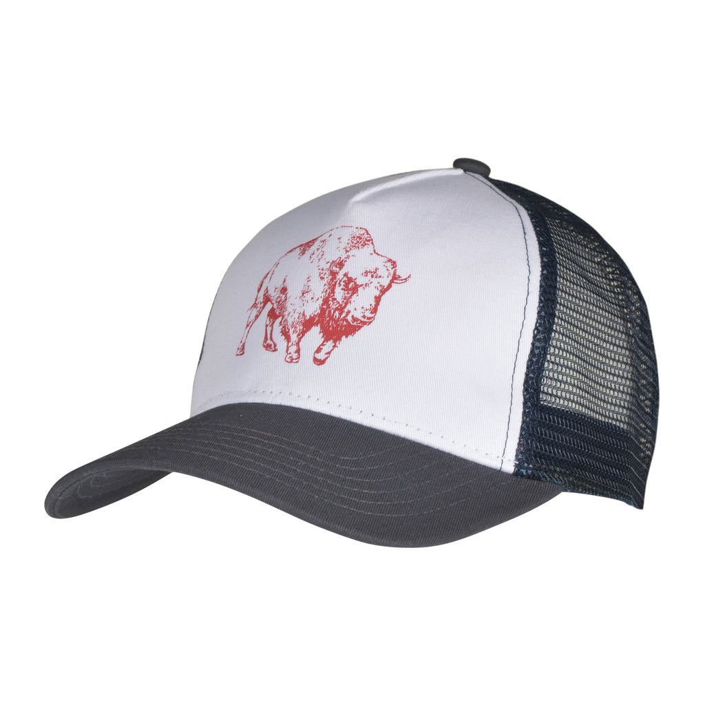 Bison Illustration Trucker Hat | Mountain Khakis