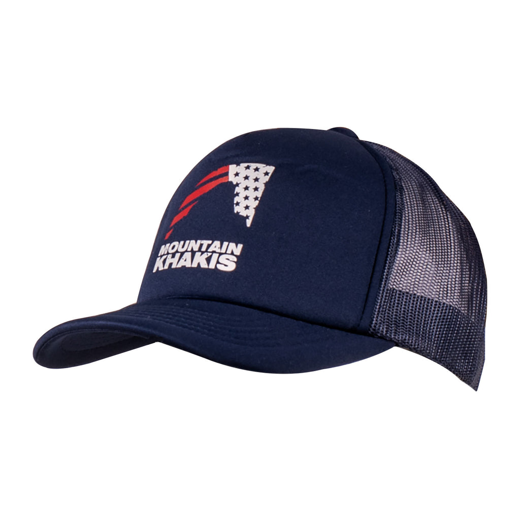 Mountain Khakis Flag Trucker Cap Unisex