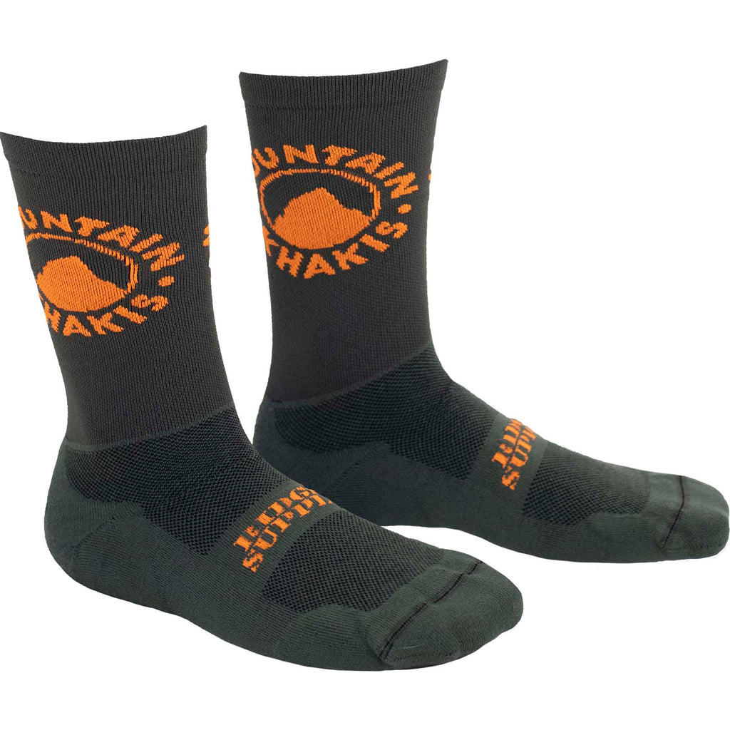 Ridge Supply MK Logo Sock