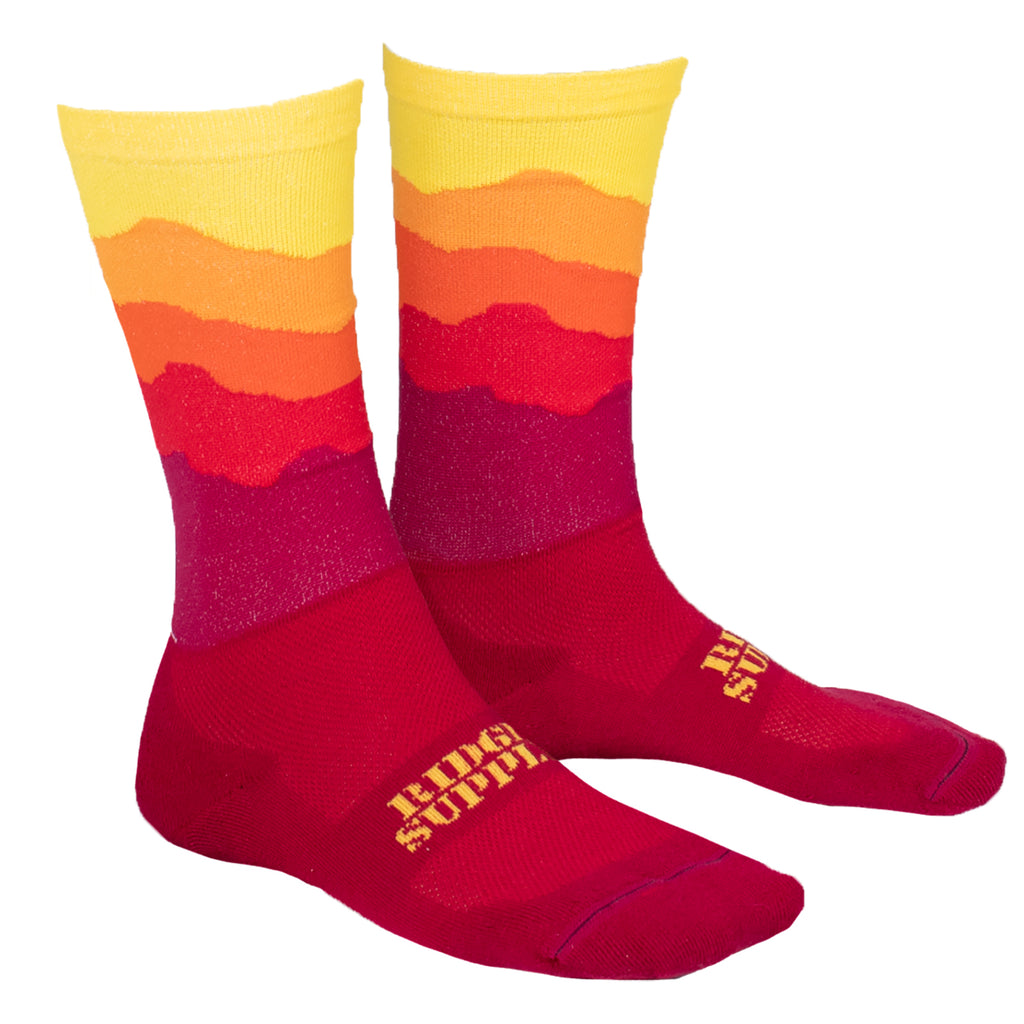 Ridge Supply Sole Sunset Dawn Sock