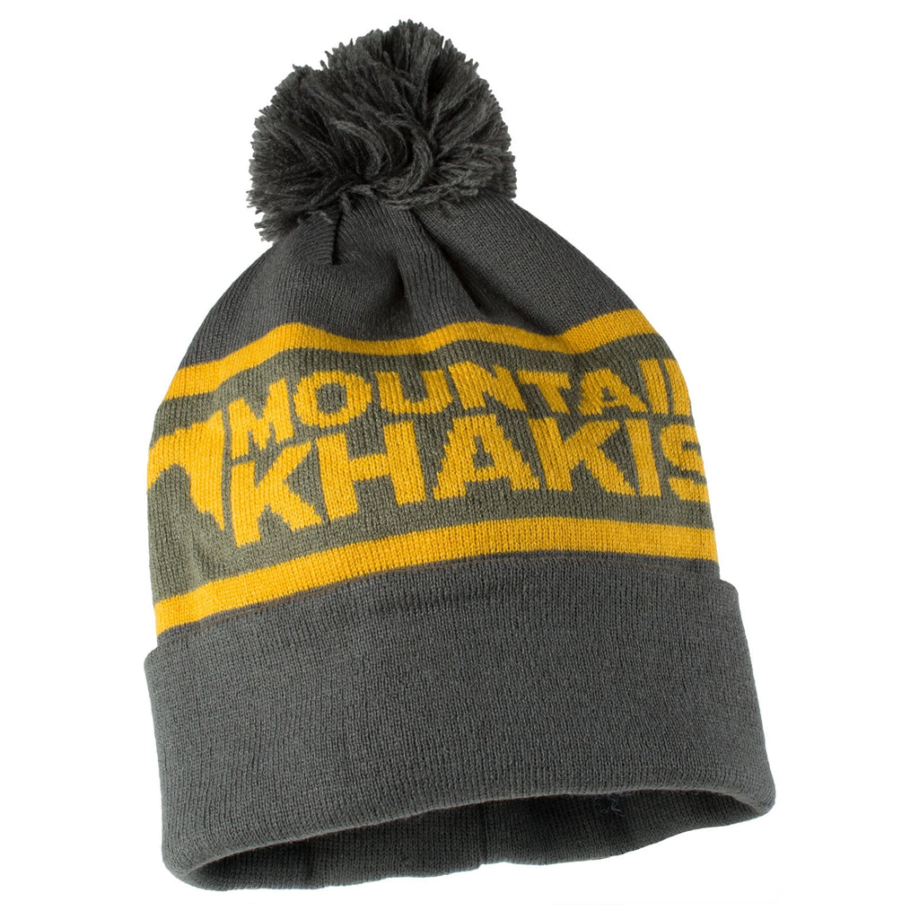 Wrap Logo Beanie | Mountain Khakis
