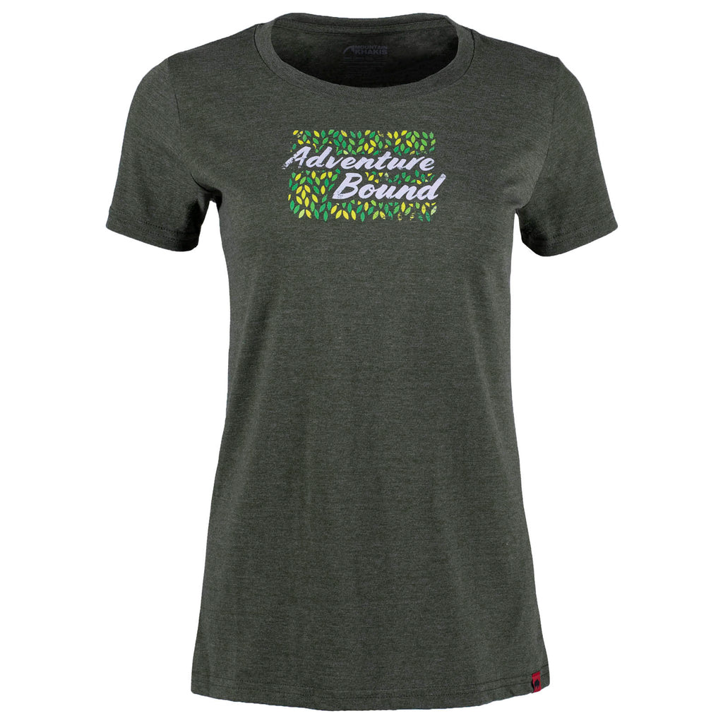 Women's Adventure Eco Friendly Organic T-Shirt | Mountain Khakis