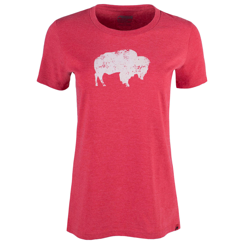 Women's Bison Eco Friendly Organic T-Shirt | Mountain Khakis