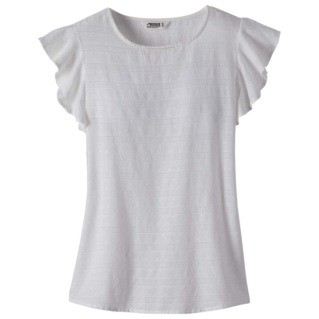 Women's Flutter Short Sleeve Shirt