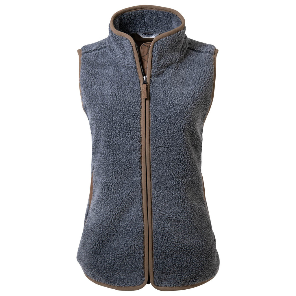 Women's Winter Fleece Vest | Water Repellent & Wind Resistant | Mountain Khakis Fourtneener Vest