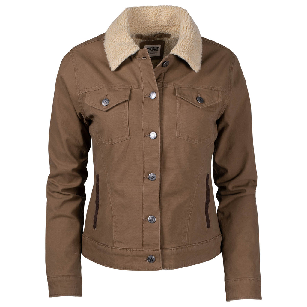 Women's Ranch Shearling Jacket | Mountain Khakis