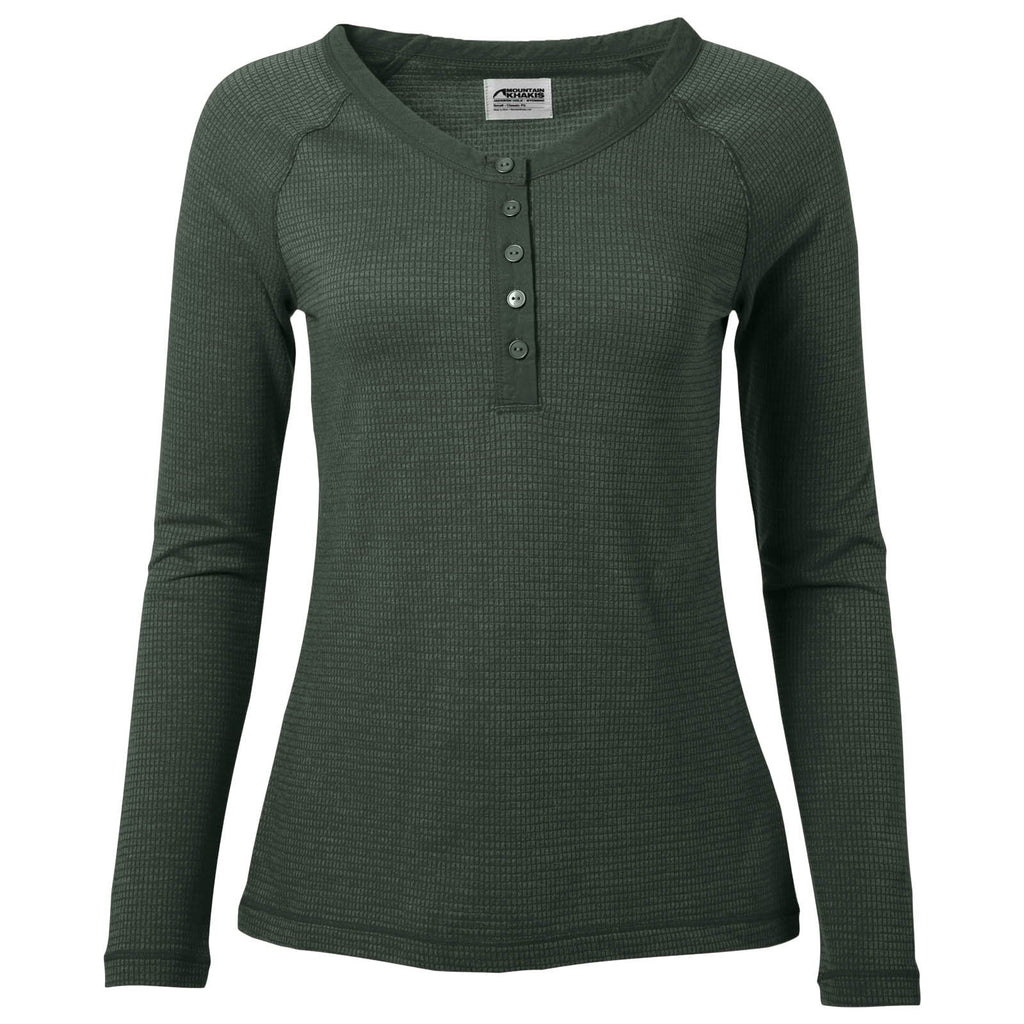 Women's Henley Shirt | Eco Friendly | Mountain Khakis Sagebrush Henley