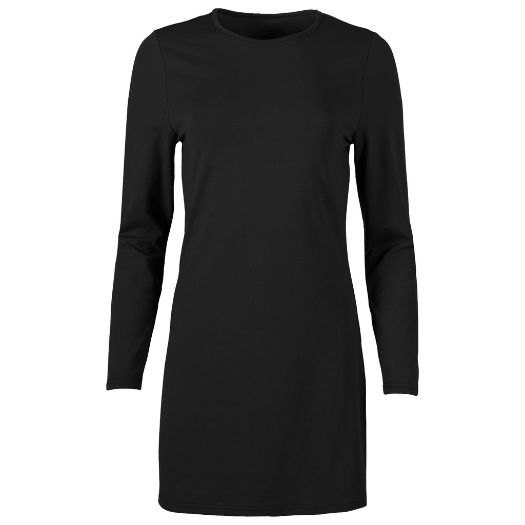 Front view of the long sleeve Sterling Dress.