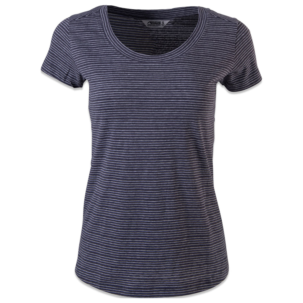 Women's Strata Short Sleeve Knit Top | Mountain Khakis