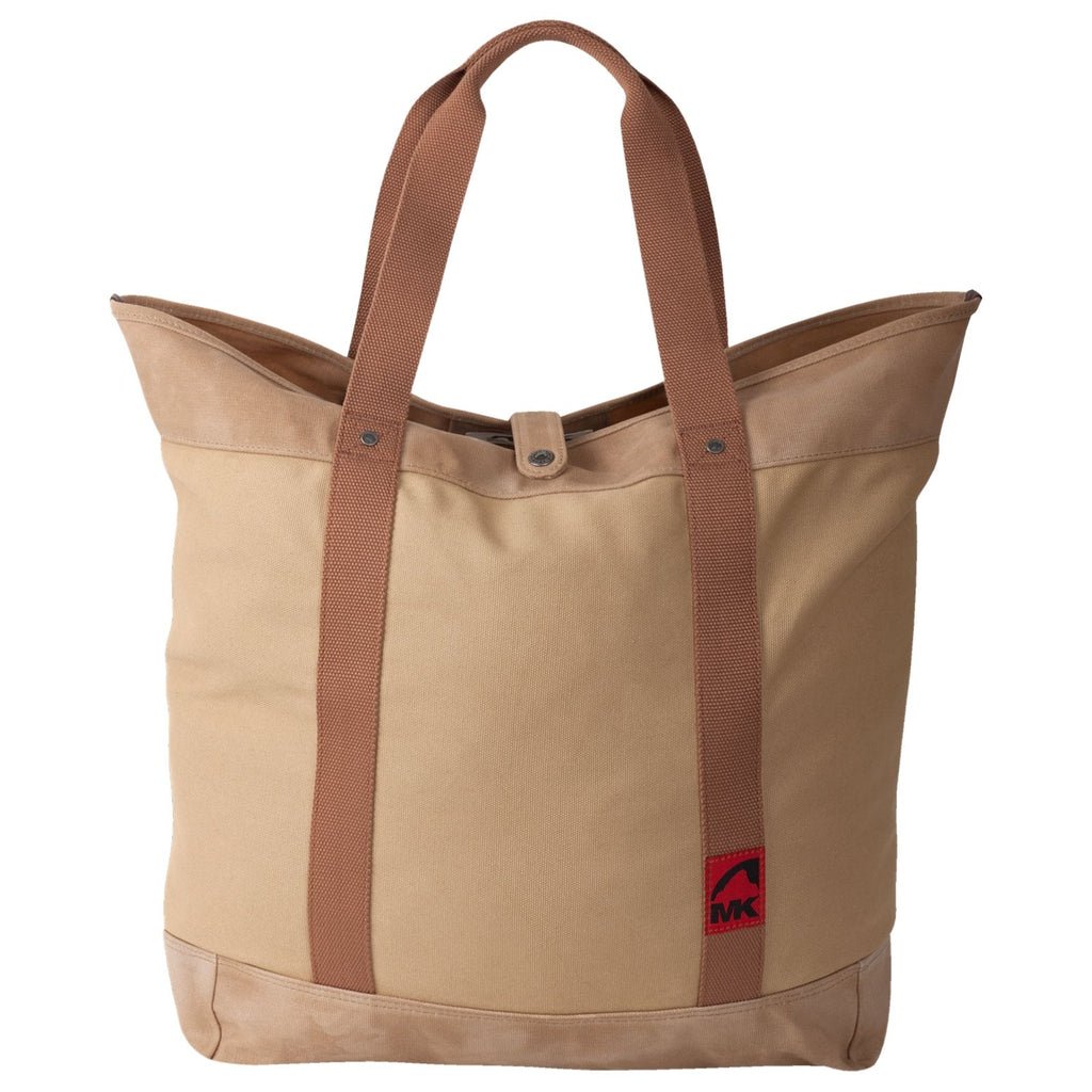 Carry All Tote | Waxed Canvas Water Resistant | Mountain Khakis