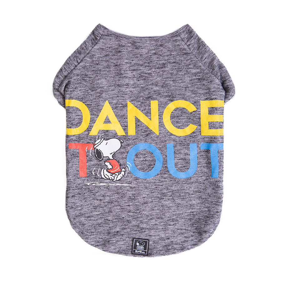 CAMISETA INVERNO SNOOPY DANCE IT OUT Zooz Pets BRA