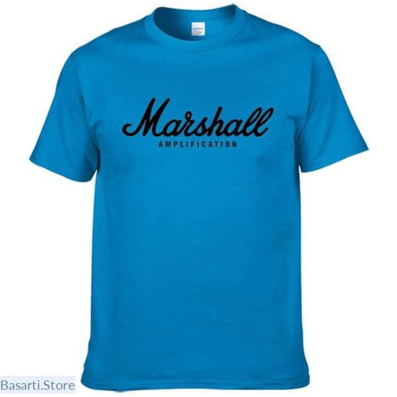 100% Cotton Marshall T-Shirt, - Basarti.Store