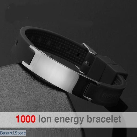 4 In 1 Bio-elements Energy Magnetic Bracelet For Men, 200000147- Basarti.Store