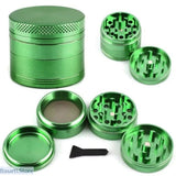 "4-layer Aluminum ""Herb"" Grinder. Top grinds, screen compartment saves, bottom collects the keif., Gadget- Basarti.Store"