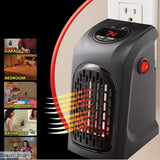400W Electric Mini Heater Fan, Wall Plug Mount, - Basarti.Store