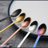 4pcs Stainless Steel Mini Cat Kitten Coffee or Tea Spoons, 127808008- Basarti.Store