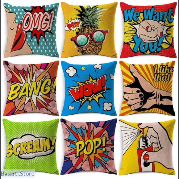 American POP-Art Cushion Cover - 40507