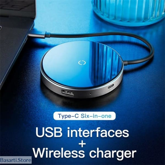 Baseus USB Type C HUB to USB 3.0 + USB2.0 Pro HUB Adapter - 708032