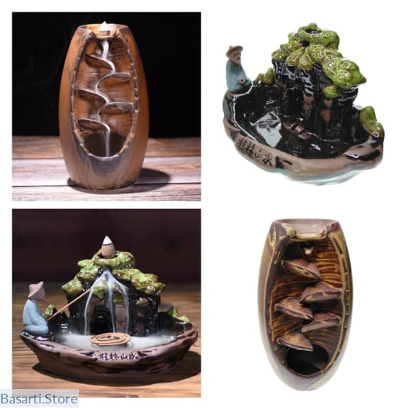 Buddhist Backflow Handmade Incense Burner - 100001780