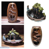 Buddhist Backflow Handmade Incense Burner, 100001780- Basarti.Store