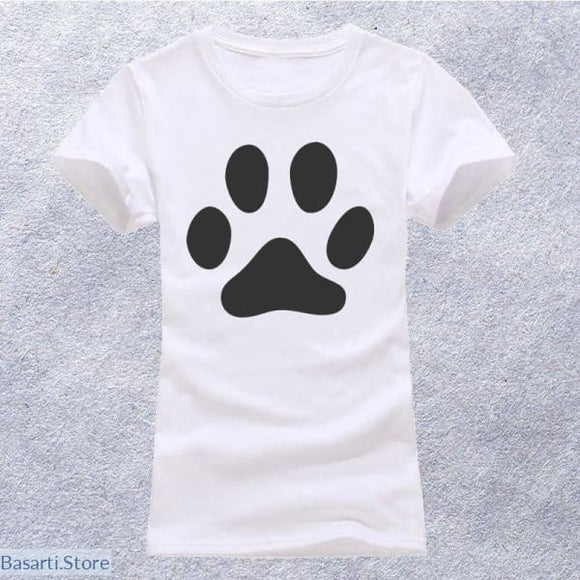 Cat Casual Short Sleeve T-Shirt in 4 Different Styles, 200000791- Basarti.Store