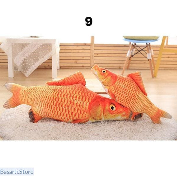 Catnip Fish Shaped Cat Toy, - Basarti.Store