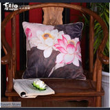 Chinese Zen Culture Decorative Pillow Covers, 40507- Basarti.Store