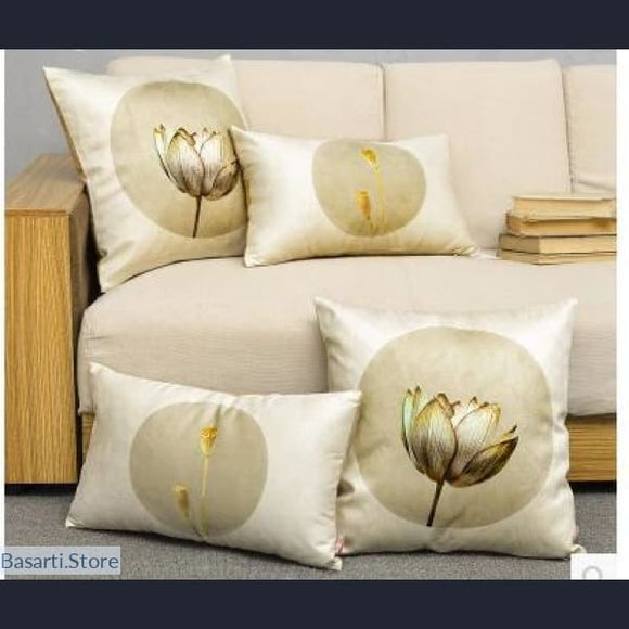 Chinese Zen Culture Decorative Pillow Covers - 40507