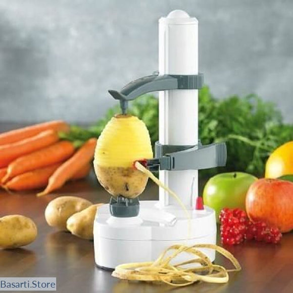 Cordless Electric Automatic Fruit & Vegetable Peeler, 100003249- Basarti.Store
