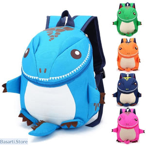 Cute Lightweight Dinosaur Backpack For Kids 1-6 years old, - Basarti.Store