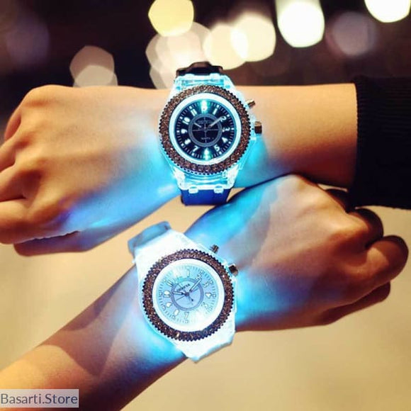 Cute Unisex Luminous Wrist Watch, 200363144- Basarti.Store