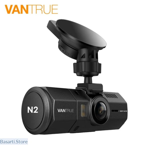 Dash Cam Dual Lens Front and Rear Car DVR Camera, 100006507- Basarti.Store