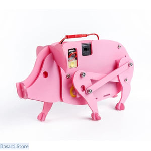 DIY Bionic Pig Educational Robot Kit for Kids, Bionic Pig Educational Robot- Basarti.Store