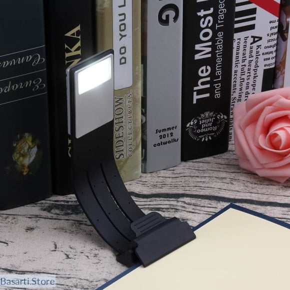 Flexible and Dimmable USB Rechargeable LED Reading Light, 39050501- Basarti.Store