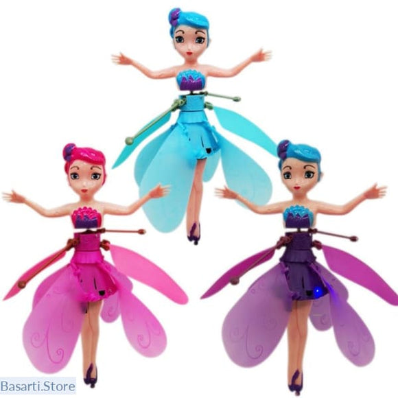 Flying Magical Fairy Princess Doll, 200001411- Basarti.Store