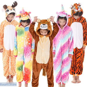 Fun and Colorful Onesie Pajamas For Children in 19 Different Styles